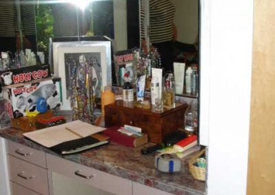 Master makeup area BEFORE