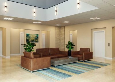 Office Lobby Rendering